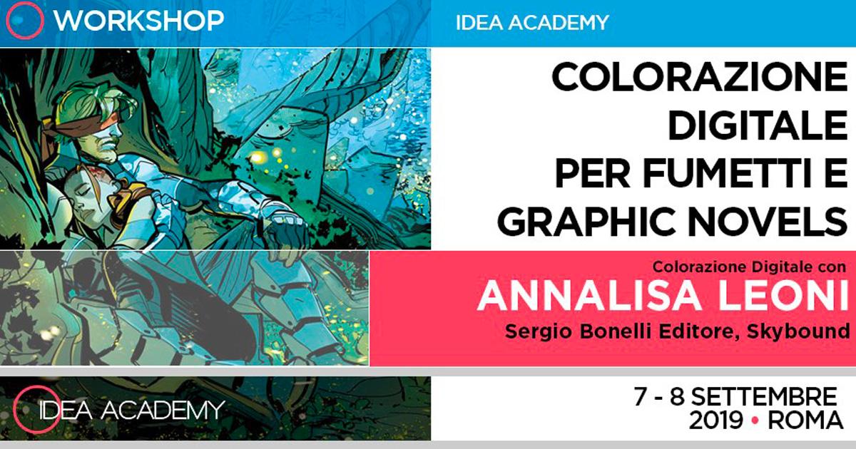 Colorazione digitale – con Annalisa Leoni
