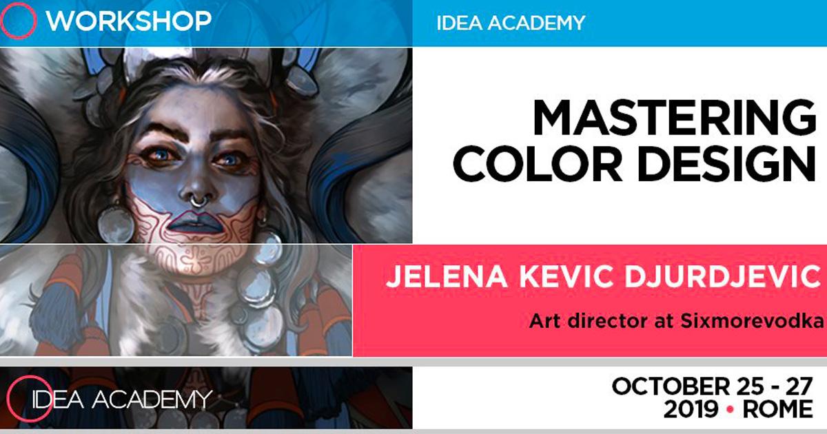 Mastering Color Design – con Jelena Kevic Djurdjevic