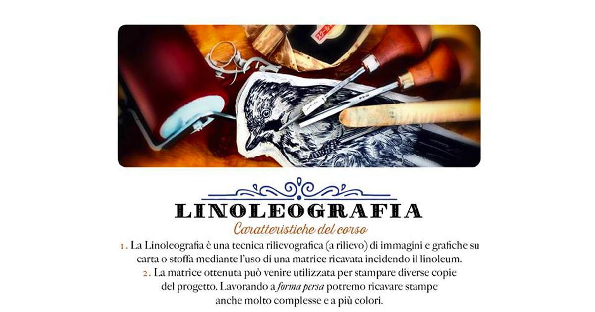 Tracce su linoleum:antiche tecniche – con Enrico Rambaldi