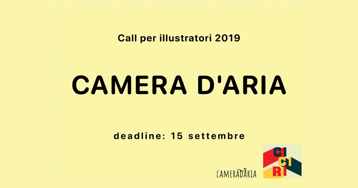 Cameradaria – Call per illustratori 2019