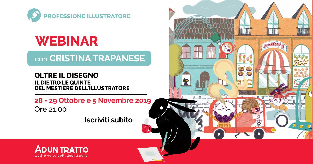 Oltre il disegno – Dietro le quinte del mestiere dell'illustratore con Cristina Trapanese