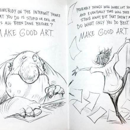 Ho assunto un life coach: Neil Gaiman, conosci?