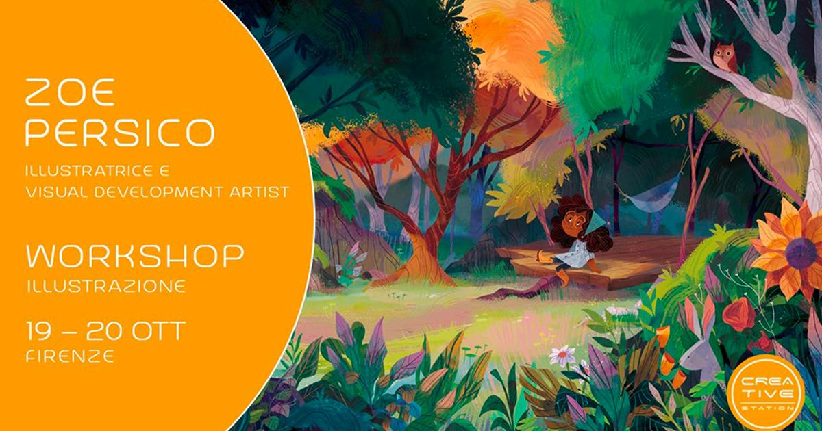 Workshop Illustrazione – con Zoe Persico