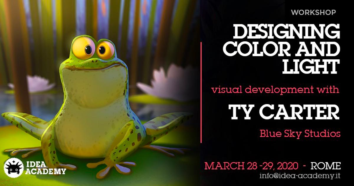 Designing Color and light – con Ty Carter