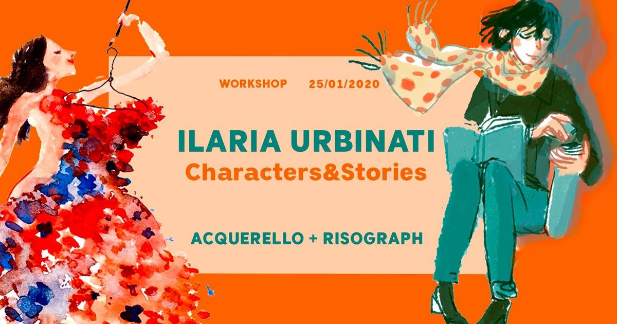 Workshop Characters&Stories – con Ilaria Urbinati