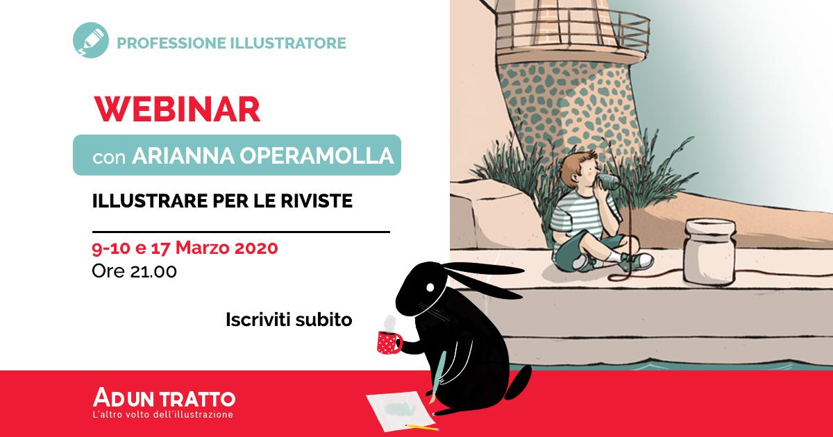 Illustrare per le riviste – Webinar pratico con Arianna Operamolla