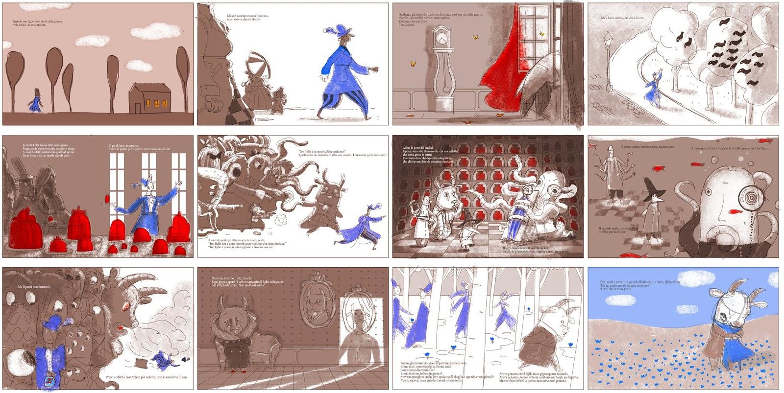 Storyboard per albi illustrati – con Anna Pirolli