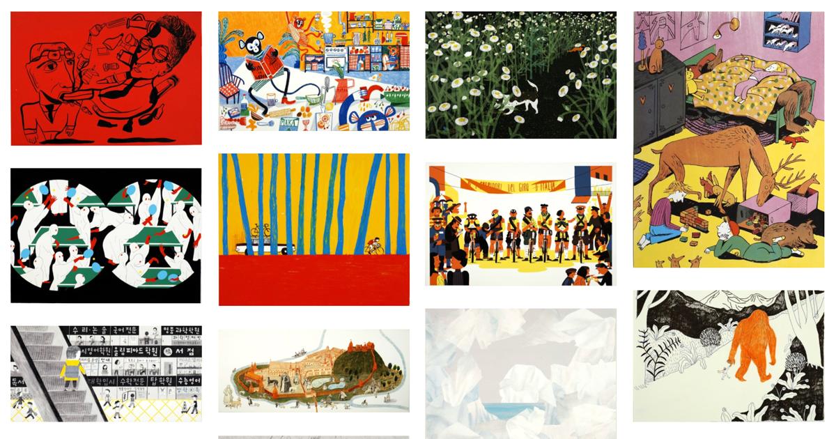 Visita guidata alla Mostra degli Illustratori in diretta facebook – con Anna Castagnoli