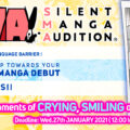15th Silent Manga Audition Contest