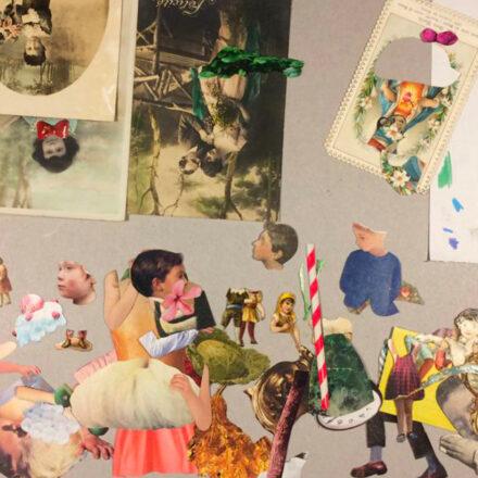 Il collage come strumento di lavoro - con Oscar Sabini