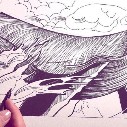 Workshop Ink &dripping - con Sara Paglia