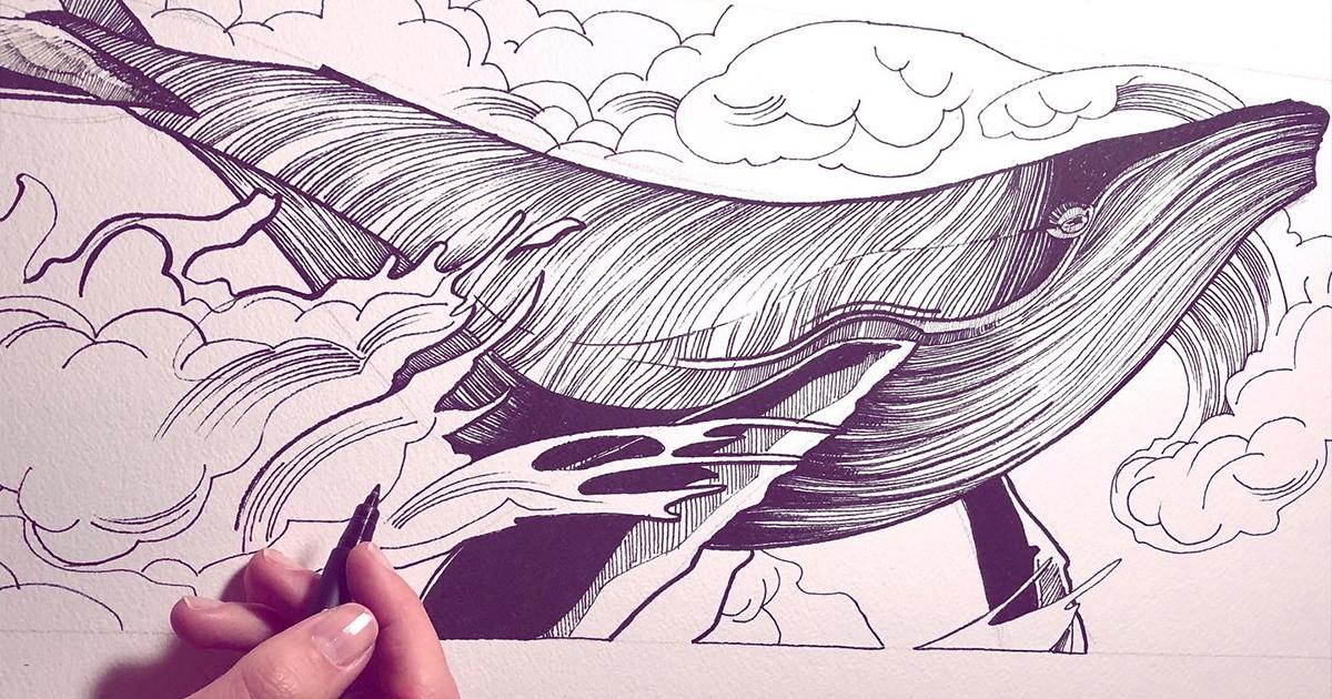 Workshop Ink &dripping – con Sara Paglia