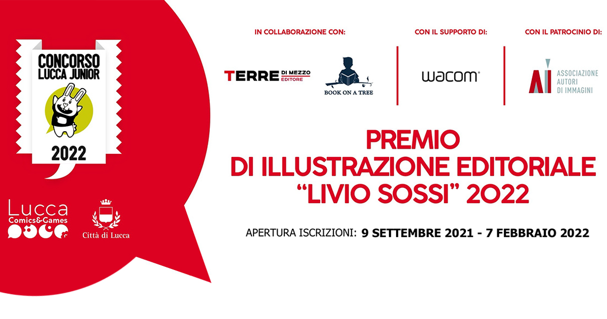 Concorso Lucca Junior – Premio di Illustrazione Editoriale Livio Sossi