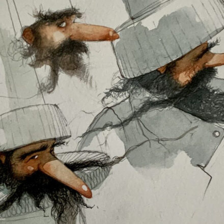 I personaggi nell'illustrazione - con Gianluca Garofalo